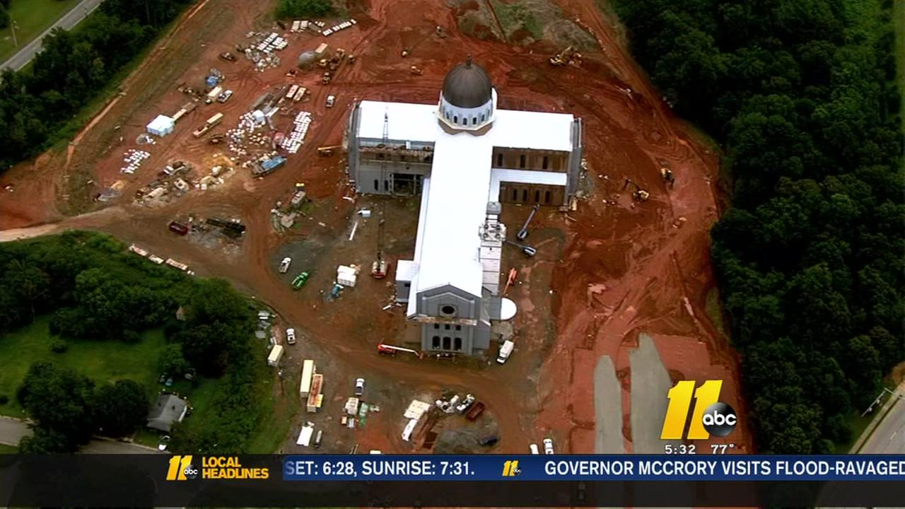 ABC11 gets sneak peek at new cathedral in Raleigh