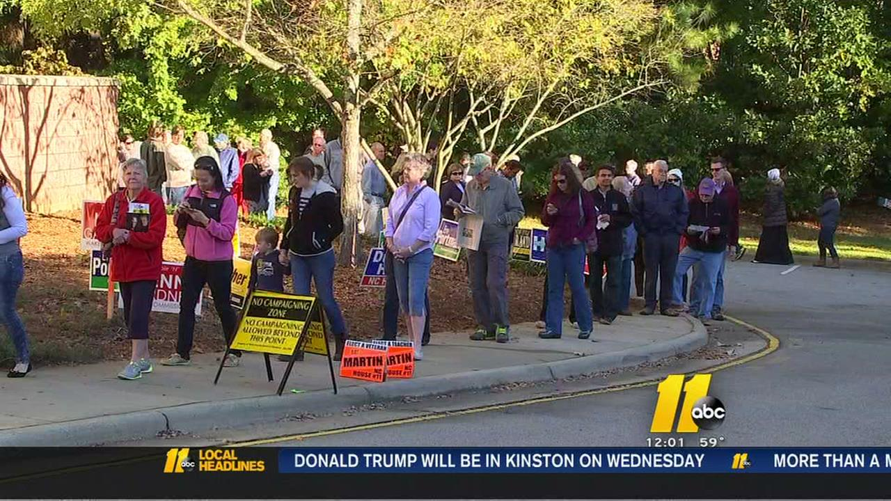 Long lines continue for early voting