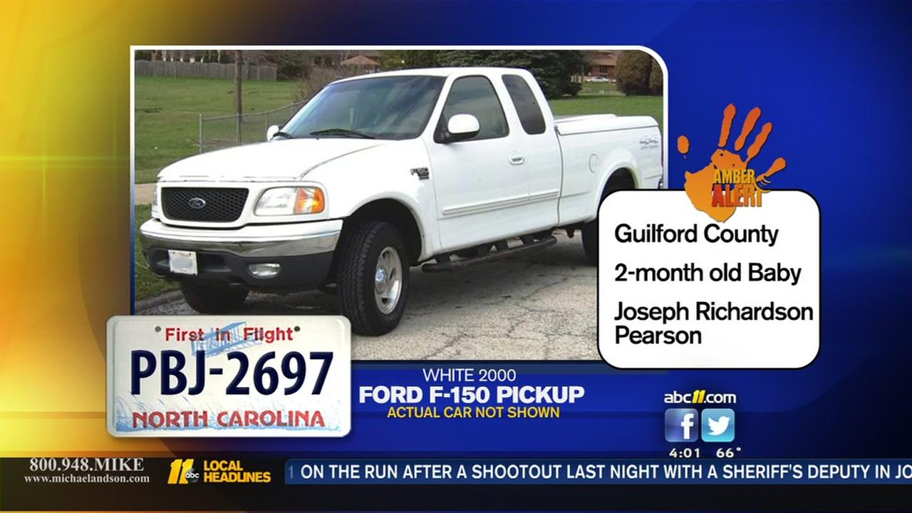 Amber Alert issued for infant in Guilford County
