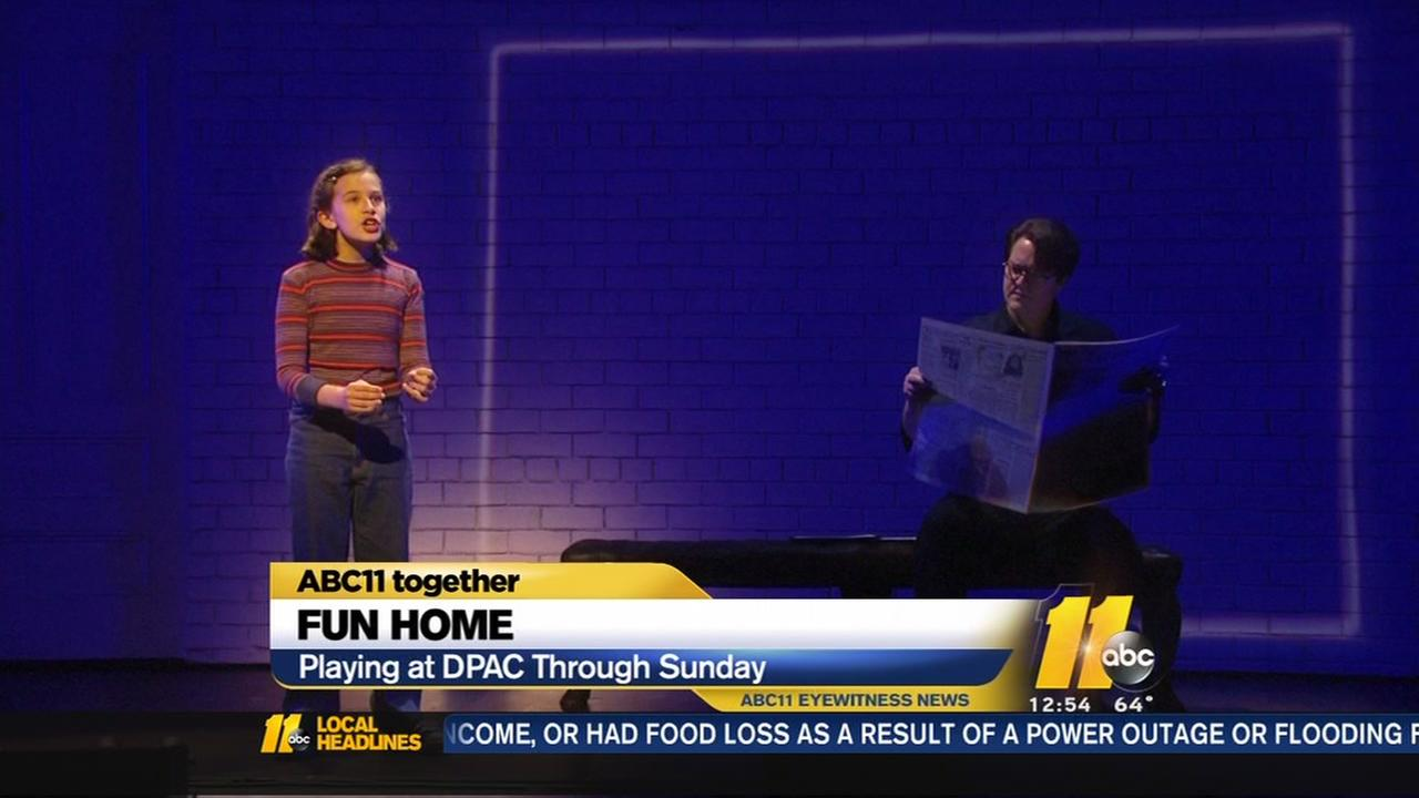 Fun Home opens at DPAC