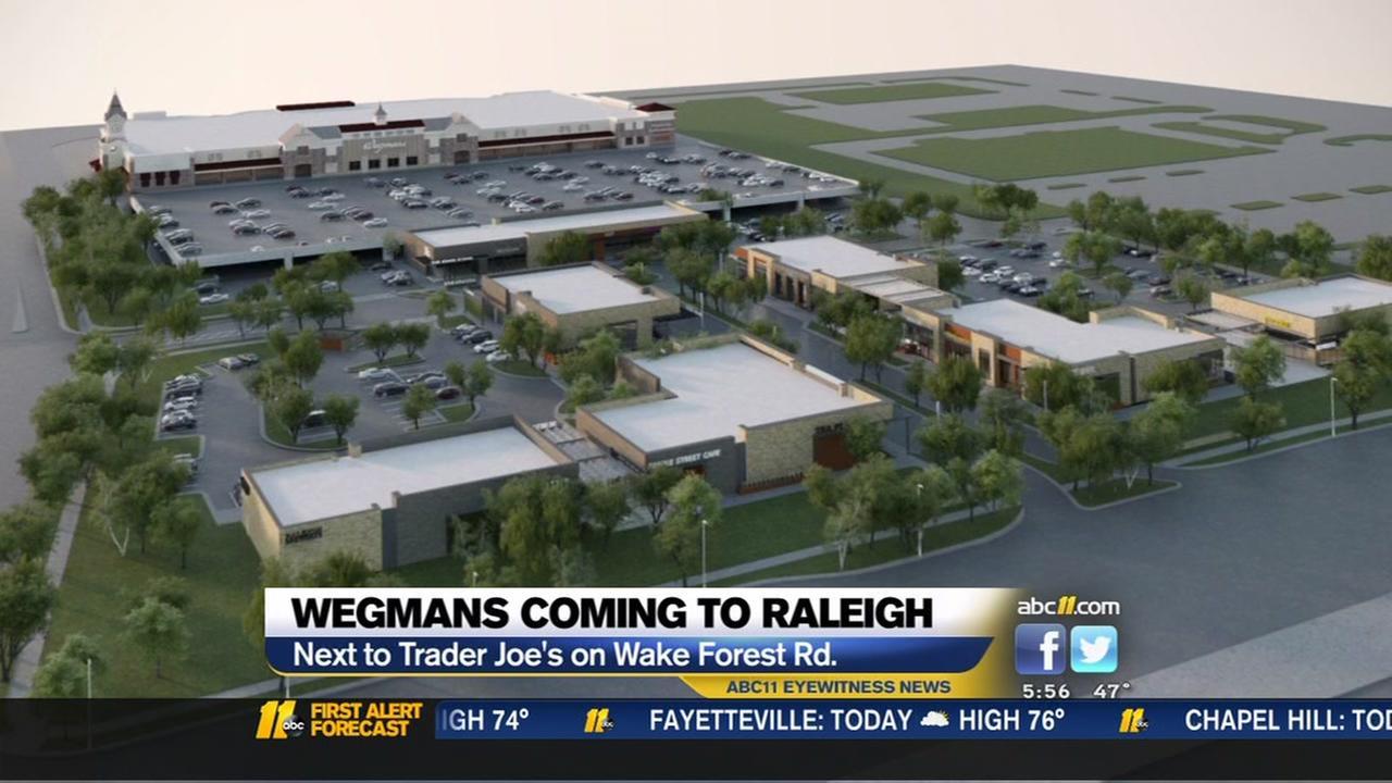 Wegmans coming to Raleigh
