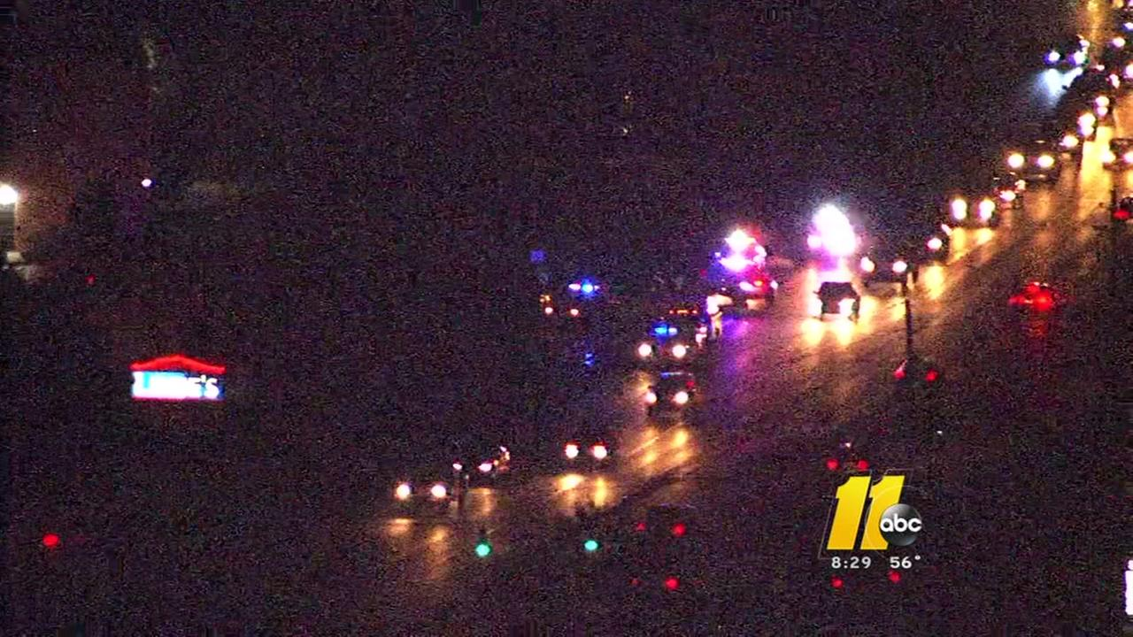 Deadly crash in Garner