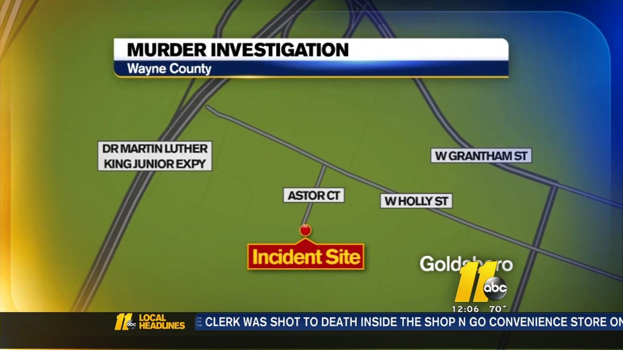 Murder investigation in Goldsboro