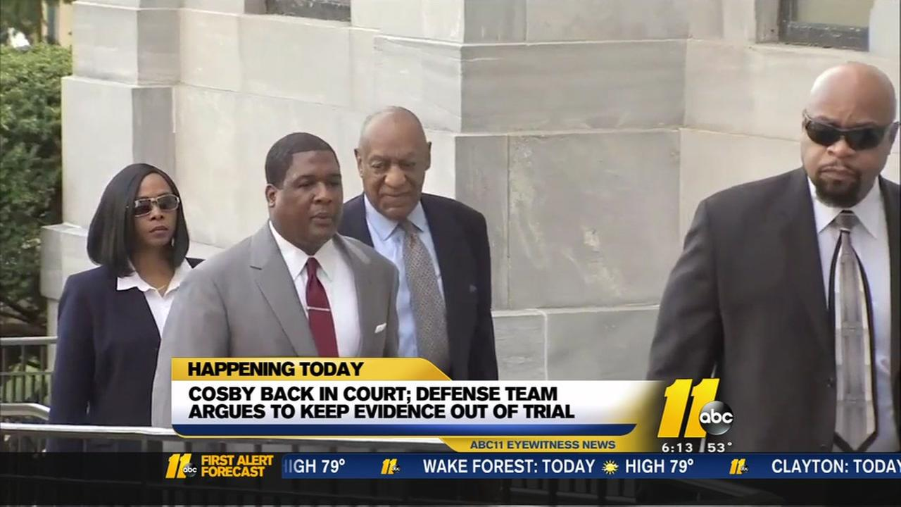 Cosby back in court Wednesday