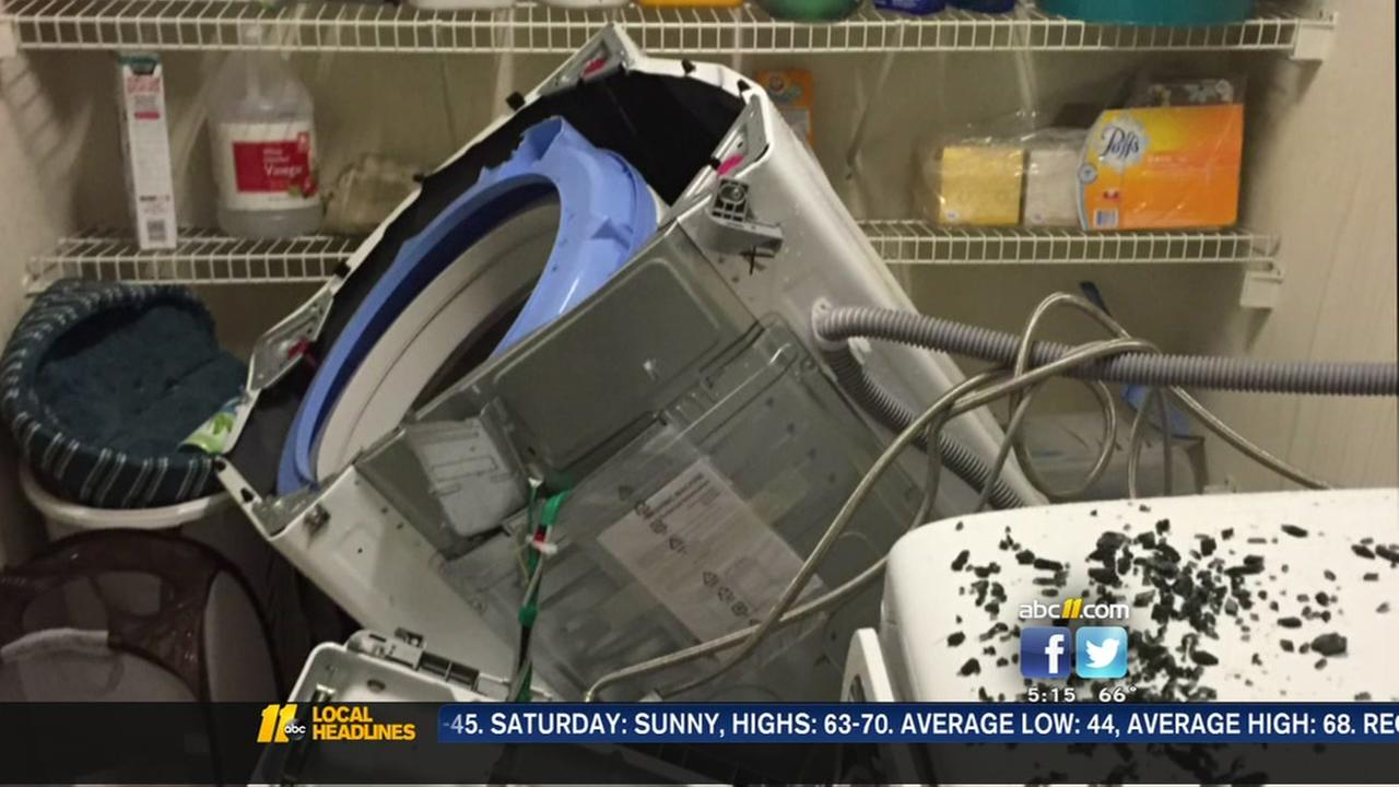 Samsung recalls washing machines after ABC11 report