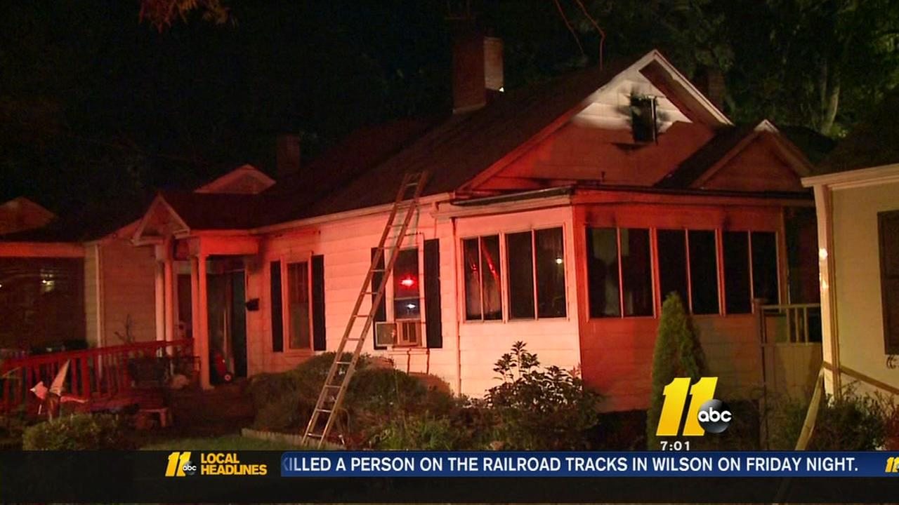 Person hurt in Durham house fire