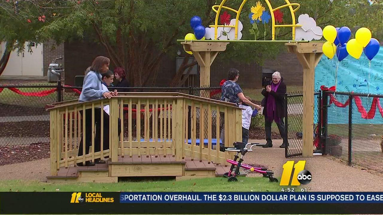 Always Dream Playground a special place for children with disabilities