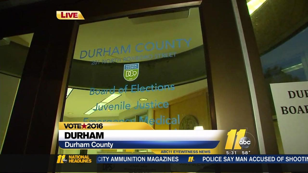 Voting woes in Durham County