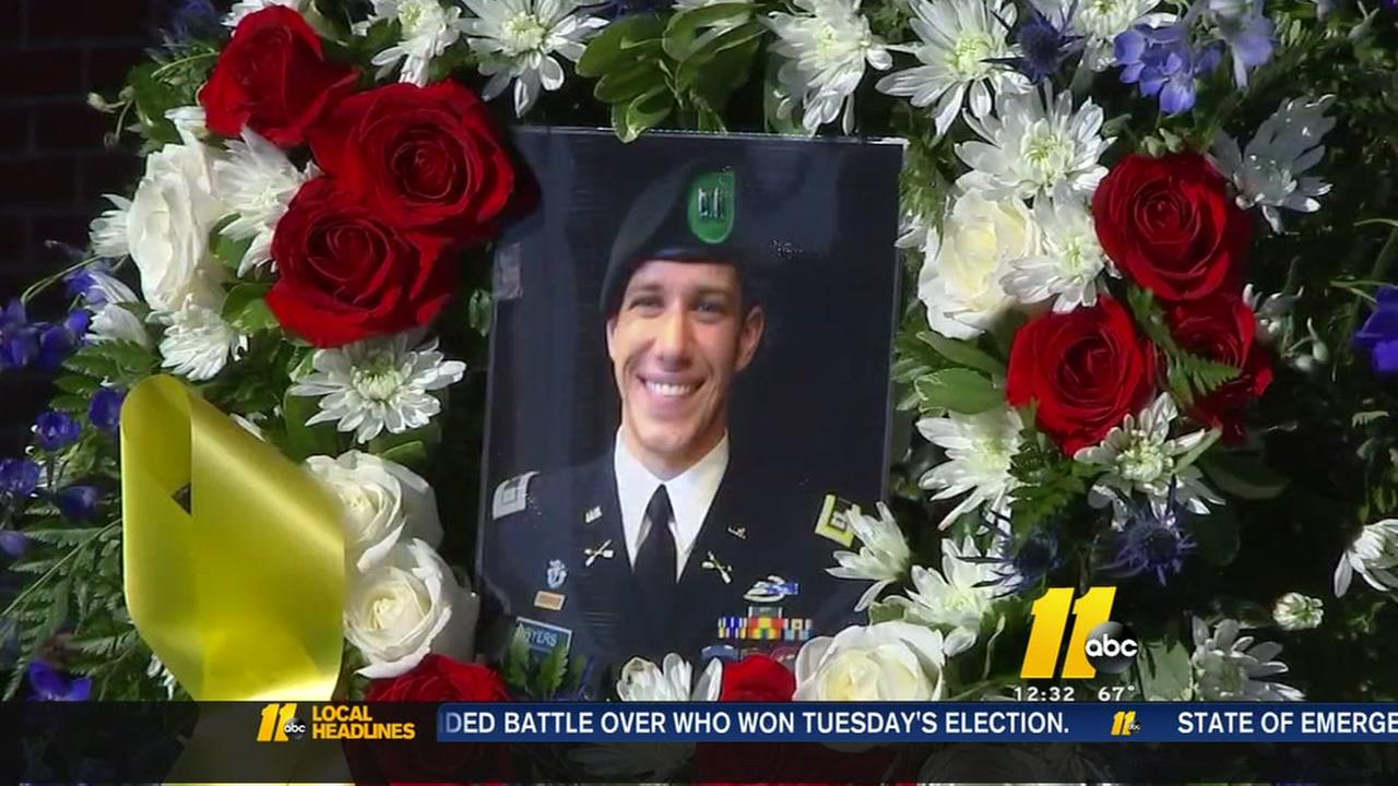 Fallen soldier honored in Rolesville