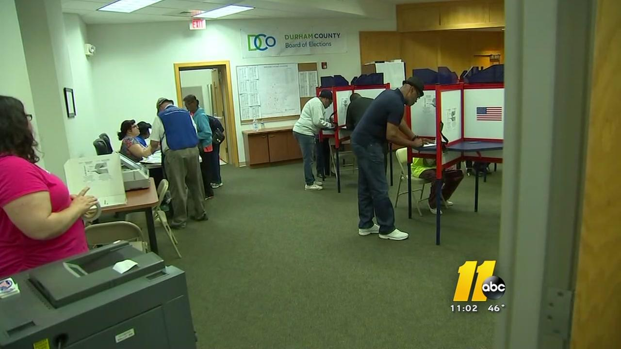 Durham election officials defend actions on election night