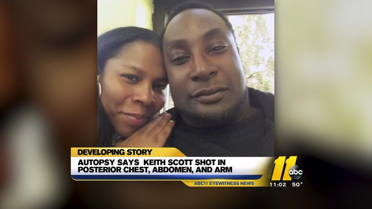Autopsy released for Keith Scott