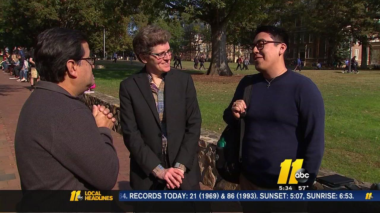 Undocumented UNC students say theyre fearful