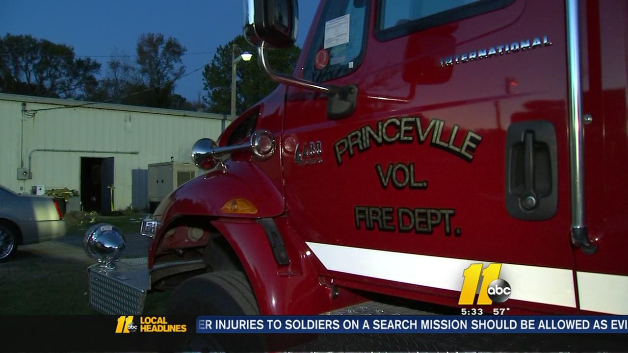 help on the way for Princeville Fire Department