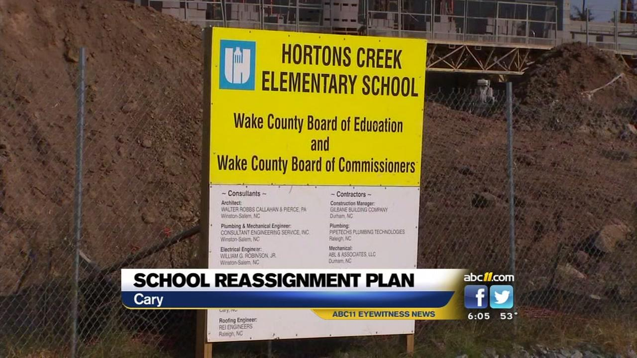 Wake Schools reassignment plan met with protest