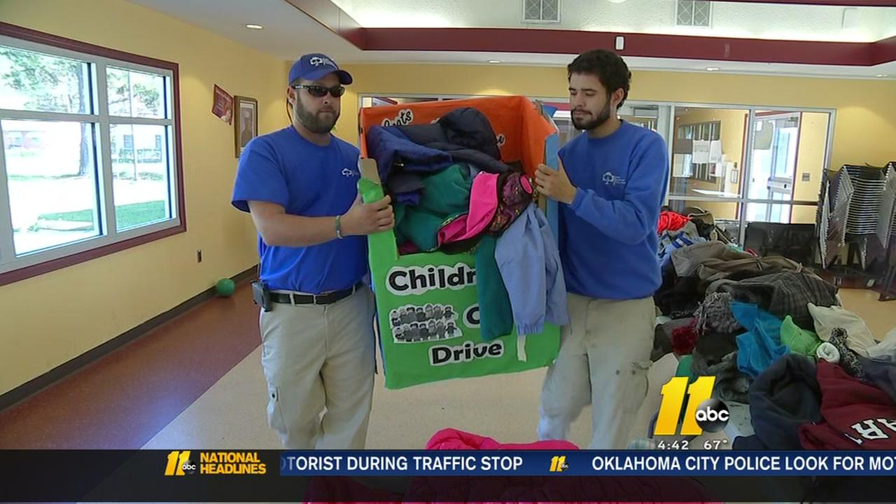 Coat drive in Raleigh aims to help 500 children in need