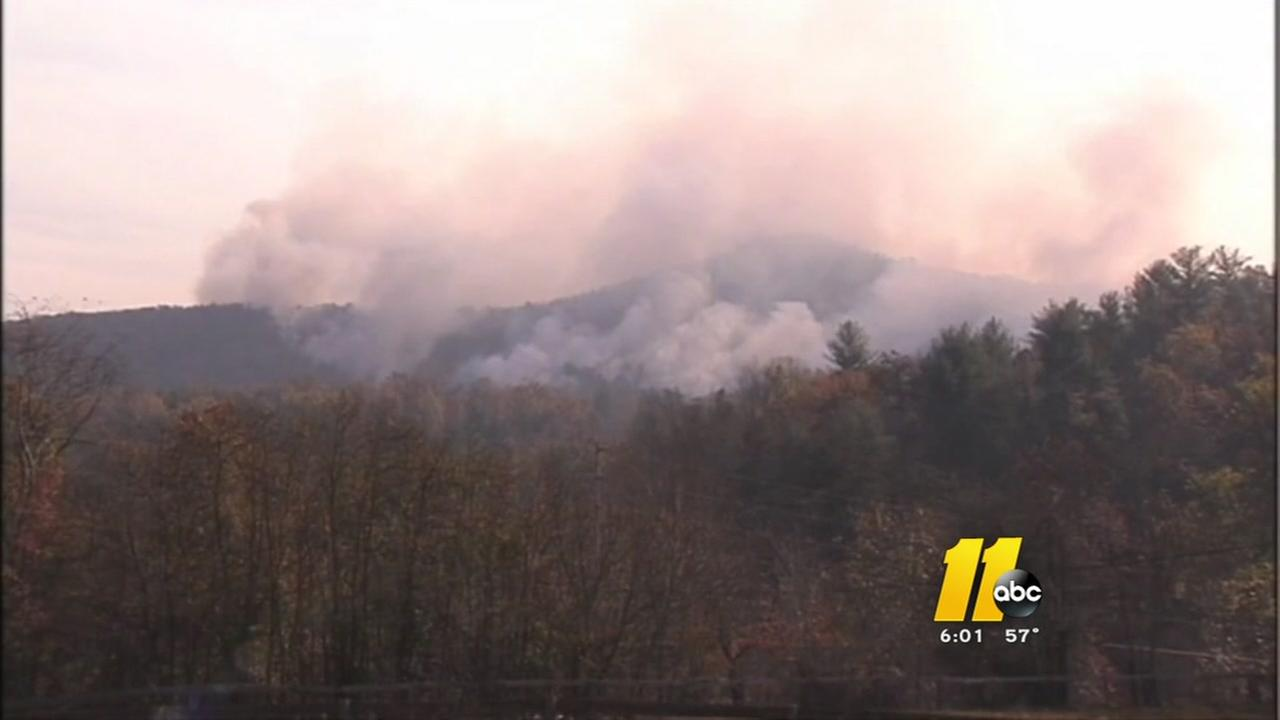 NC wildfires lead to air quality alerts throughout the state