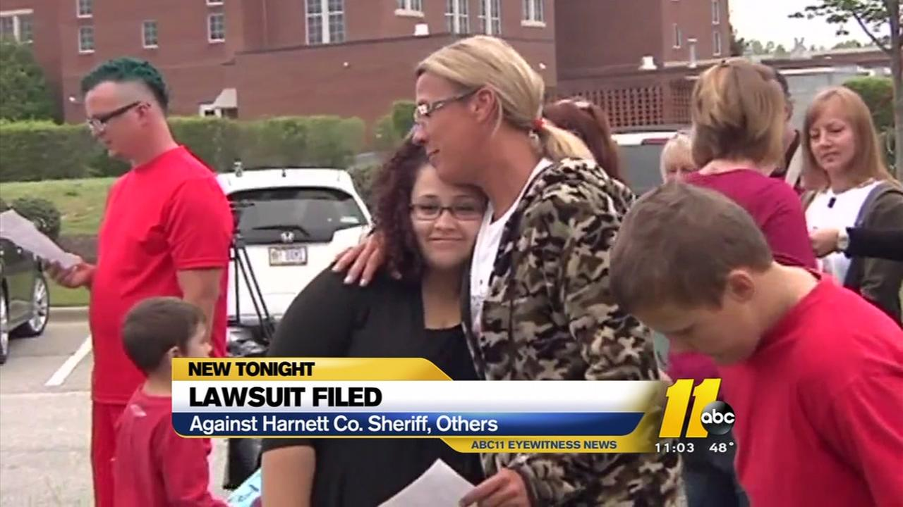 Lawsuit filed against Harnett County Sheriffs Office, others