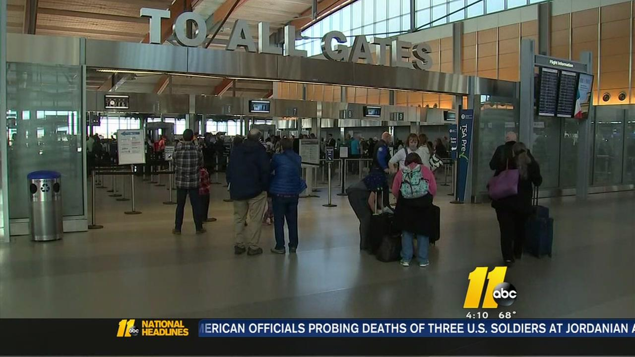 Flying out for Thanksgiving? Get there early
