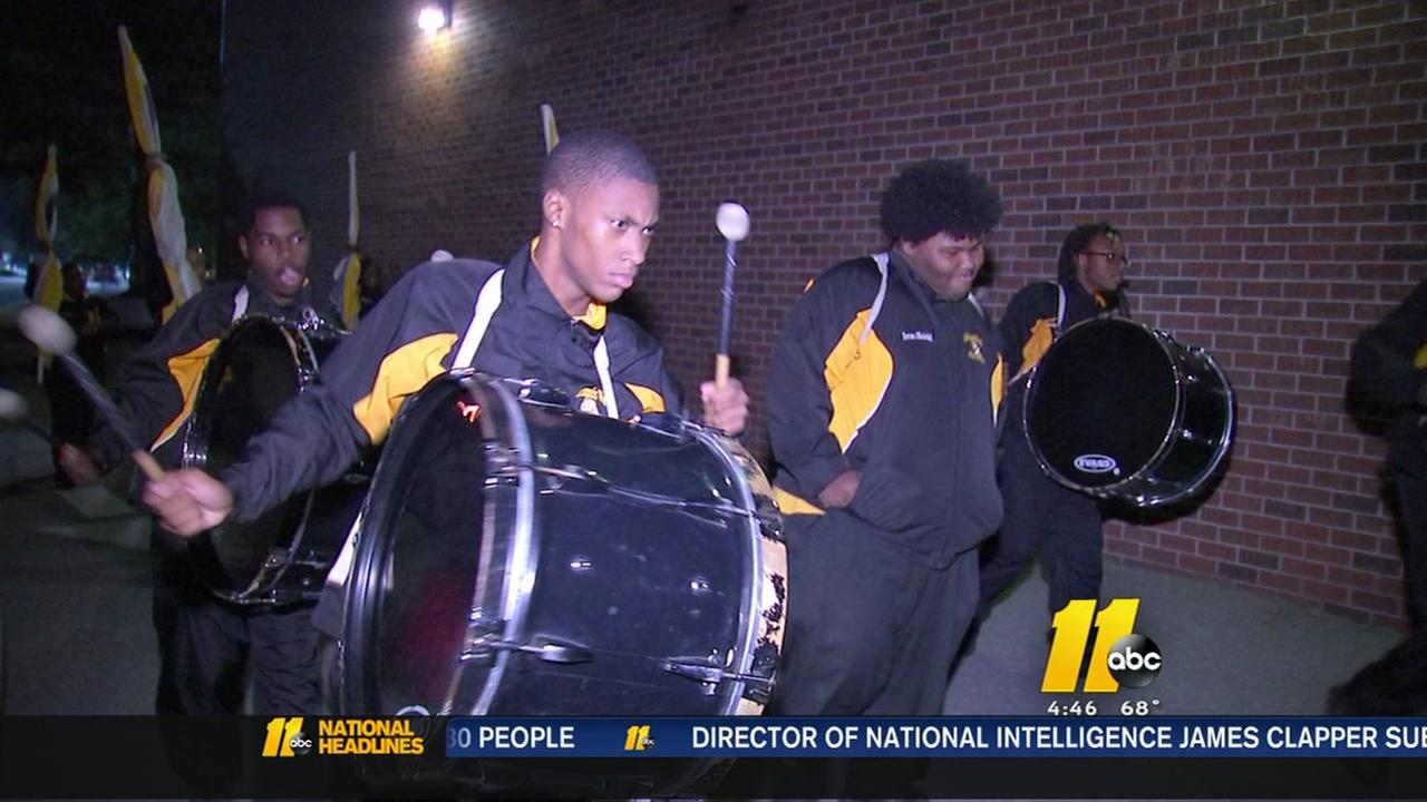 Raleigh parade to feature famous Goldsboro drum line