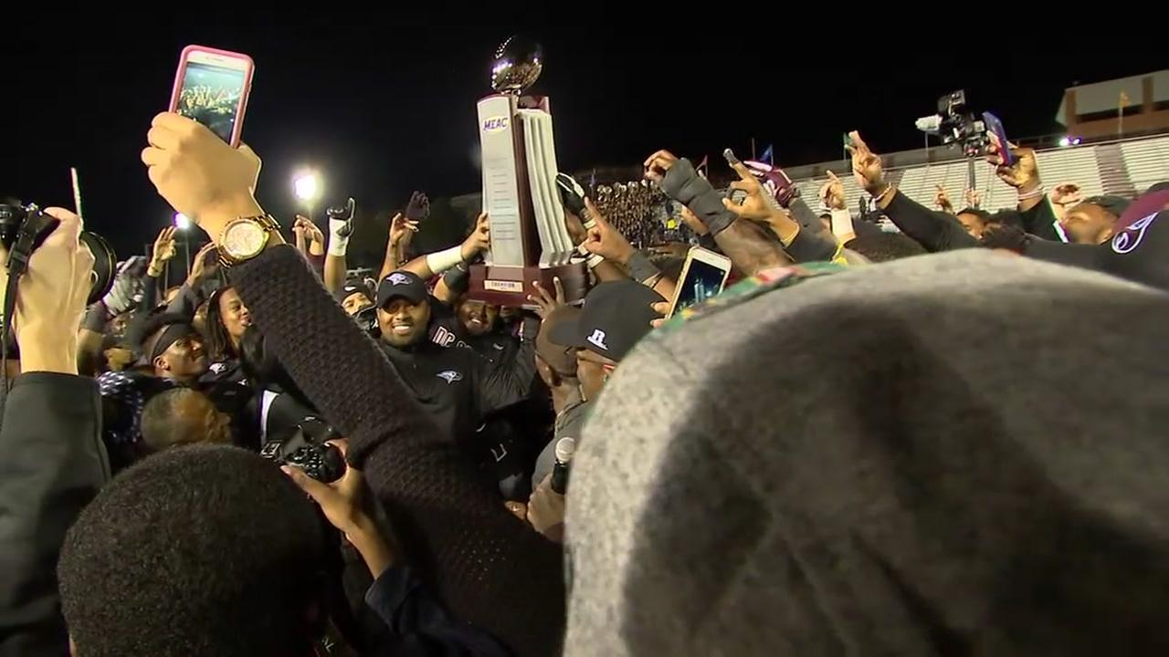 NC Central beats NC A&T, claims conference title