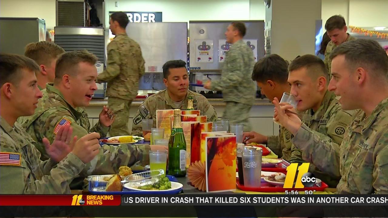 Feeding an army at Fort Bragg