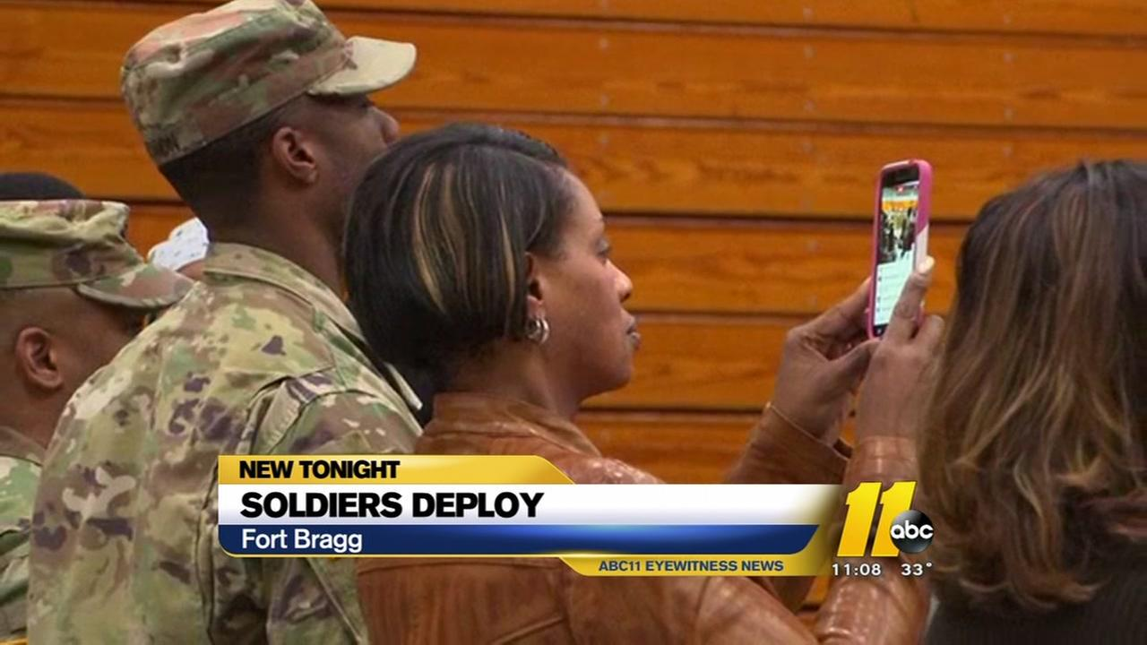 Emotional night as soldiers deploy for Iraq