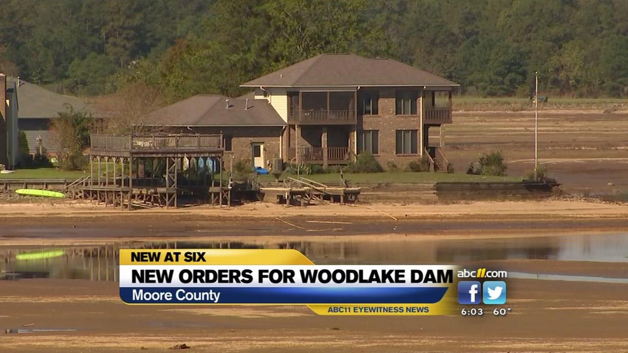 Agency issues new orders for Woodlake Dam