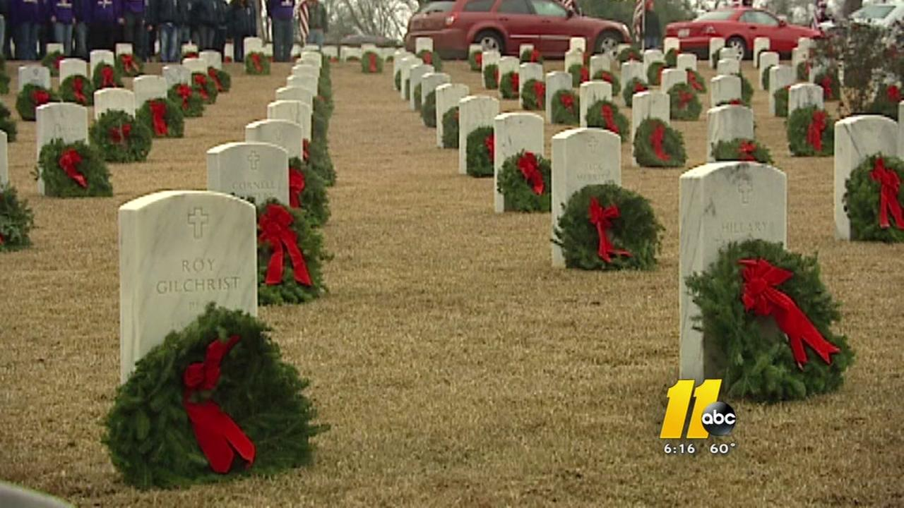 Wreaths Across America working to honor deceased veterans