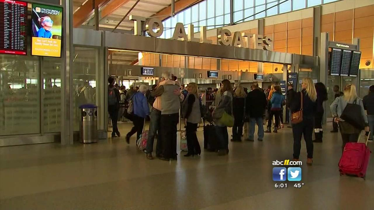 Travel winding down at RDU after busy holiday