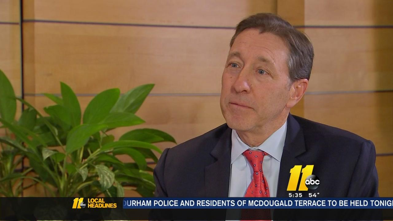 George Bodenheimer on mission to defeat cancer
