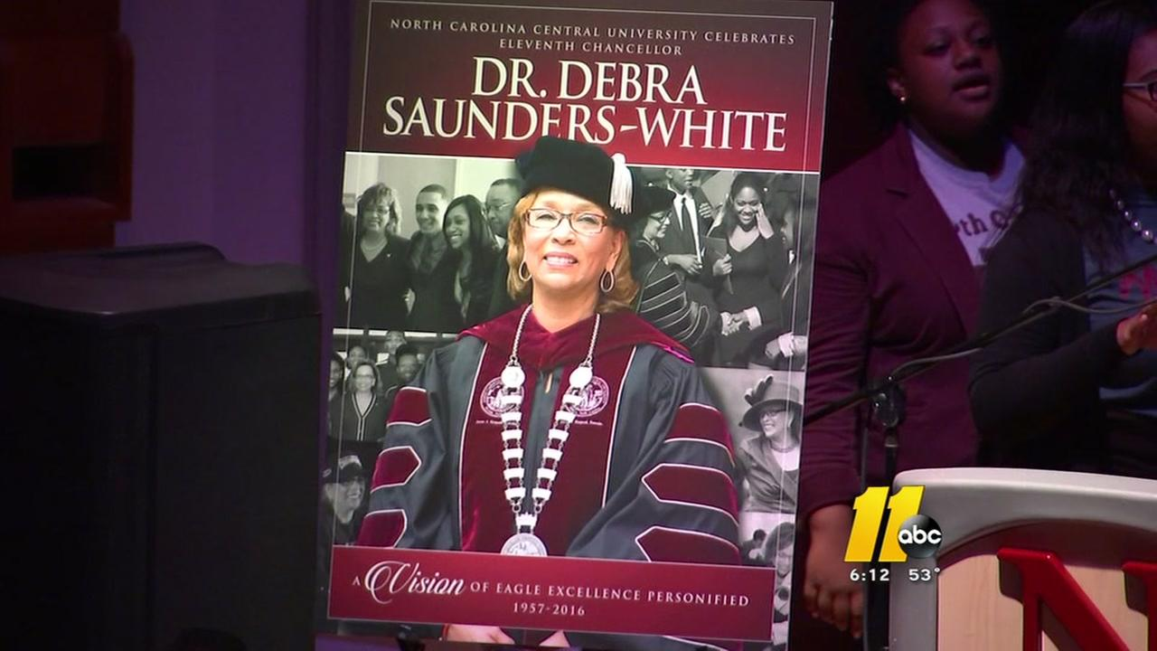 NCCU Chancellor remembered at campus ceremony