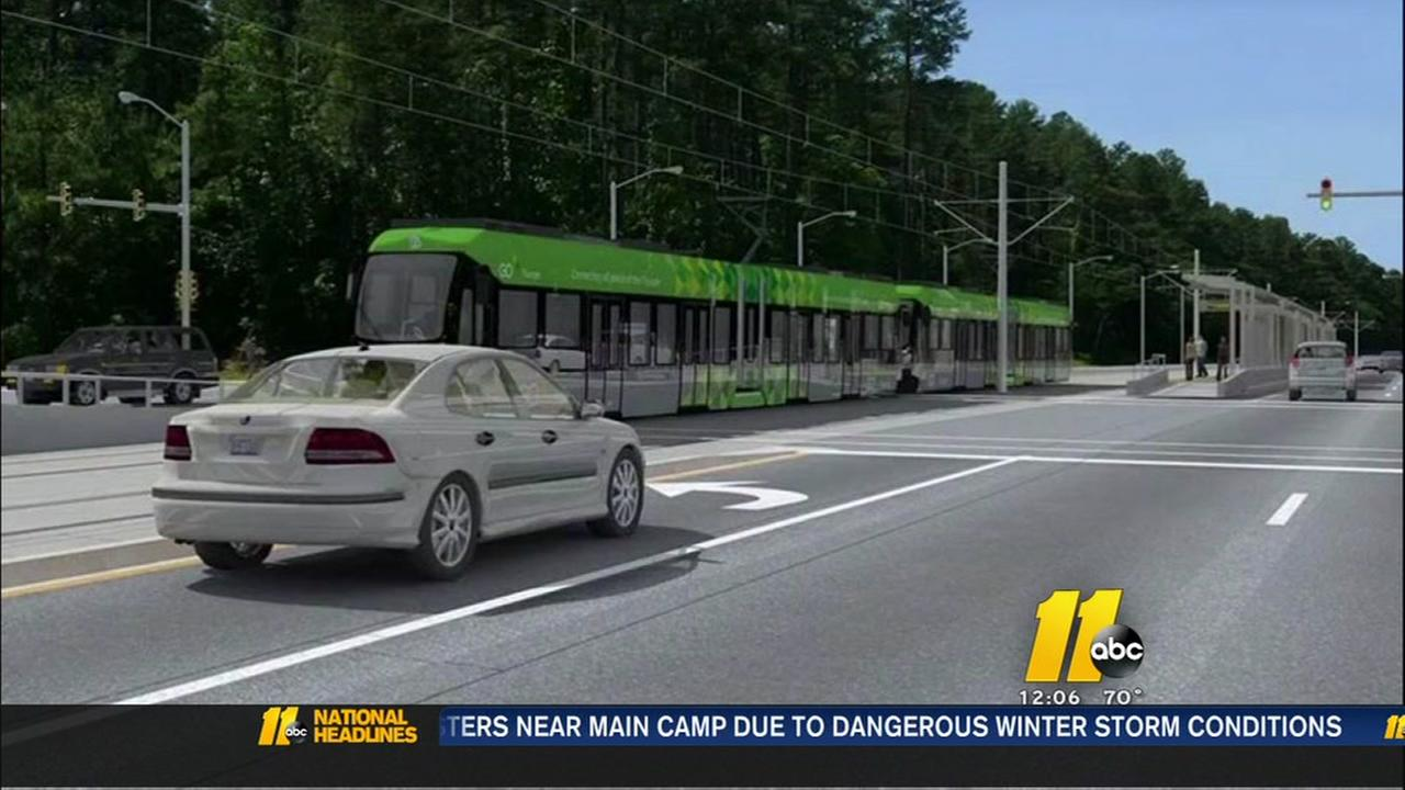 Light rail plan discussed