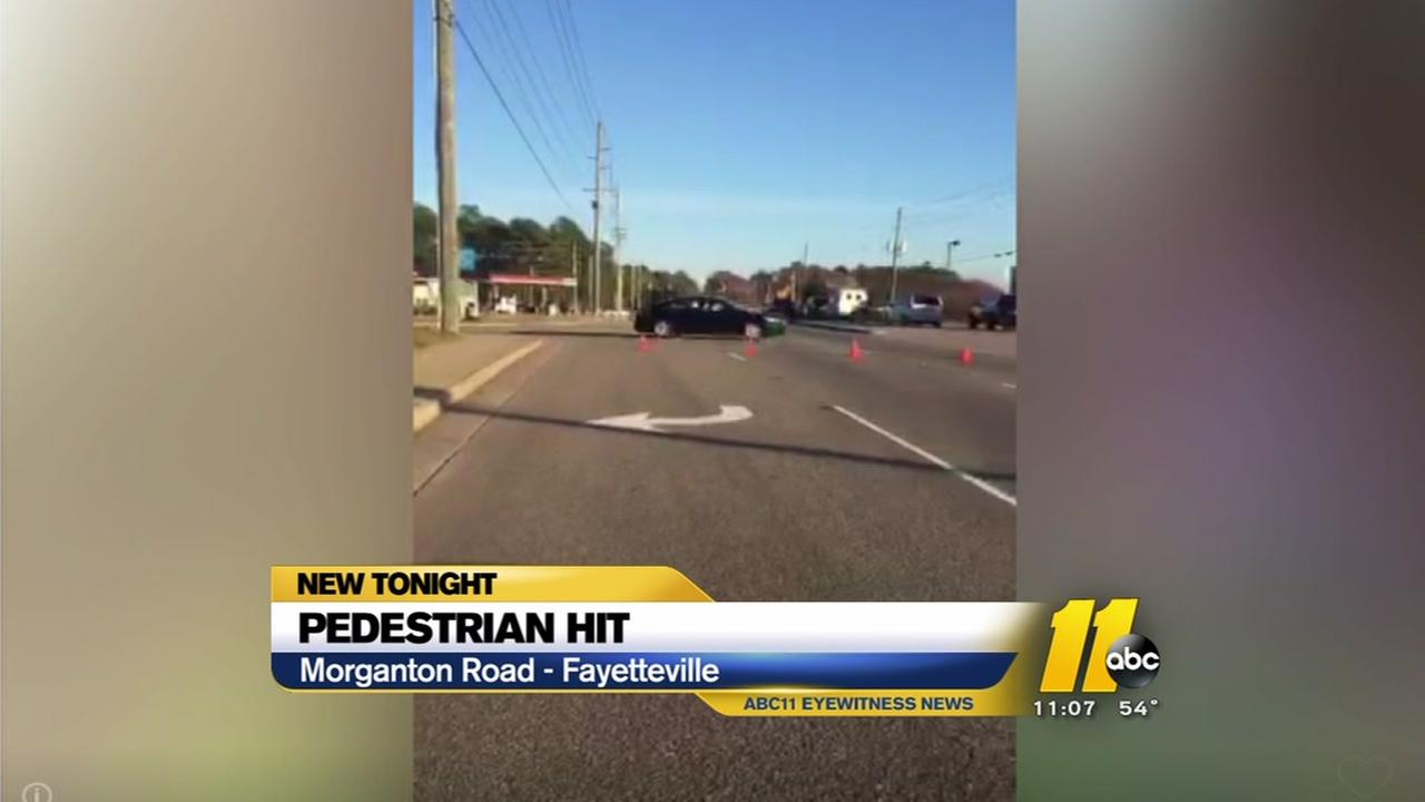 Pedestrian hit by car later dies