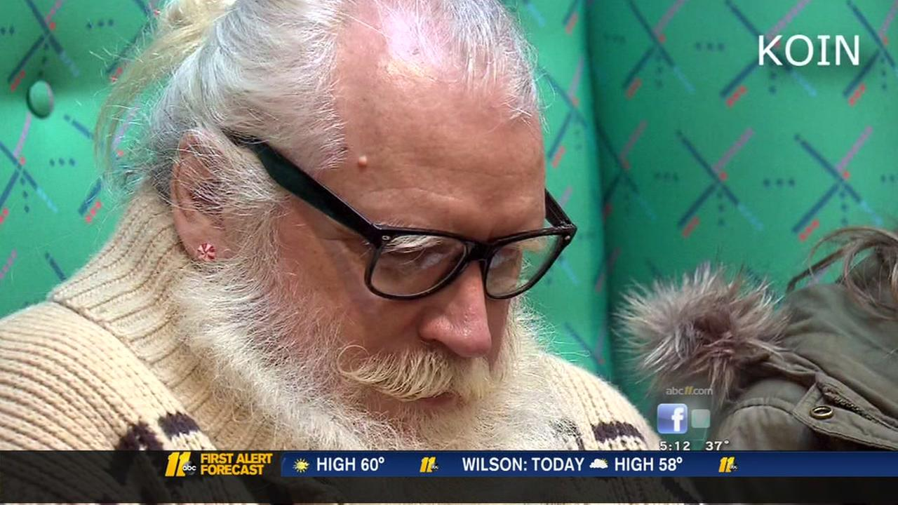 Hipster Santa comes to Portland