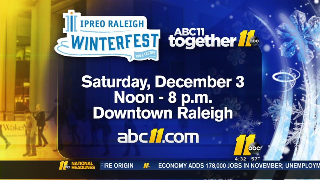 Winterfest rings in the holiday season in Raleigh
