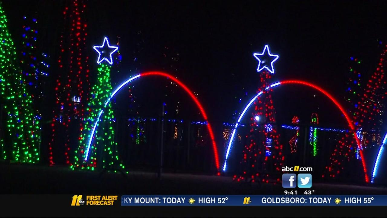 Christmas in the Park happening in Fayetteville