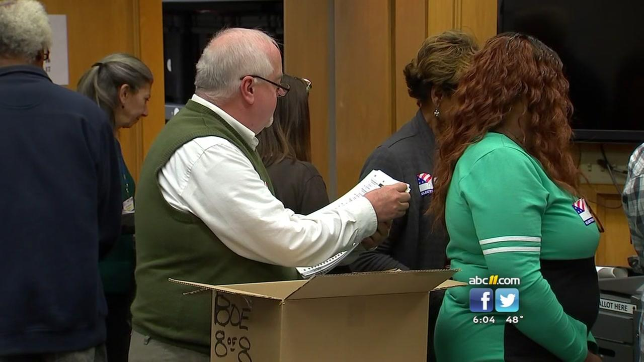 Durham board of elections begins ballot recount