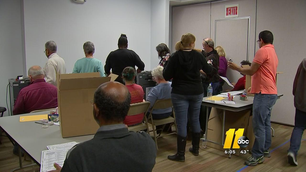 94,000 ballot recount continues in Durham