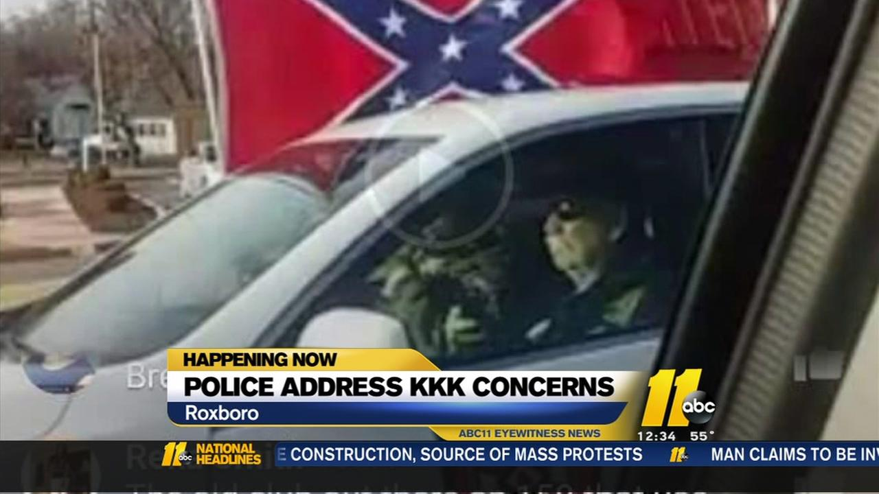 Roxboro police address KKK concerns after weekend event