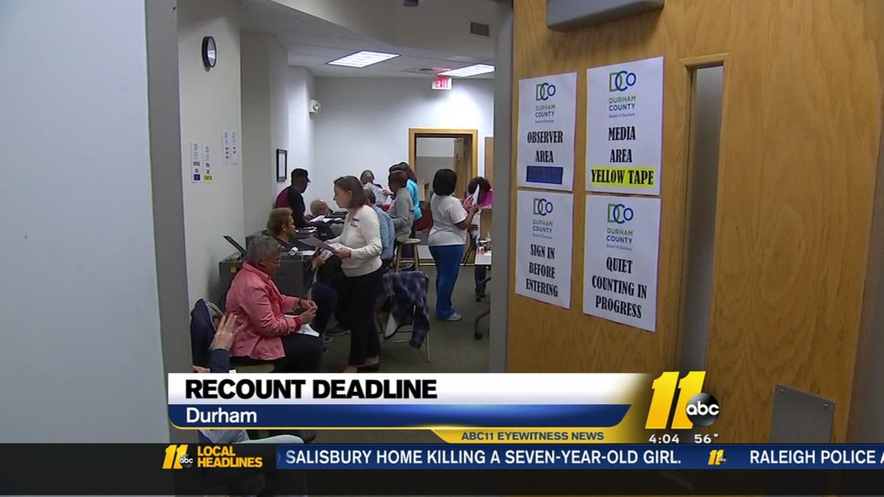 Durham County recount ends with nearly identical results