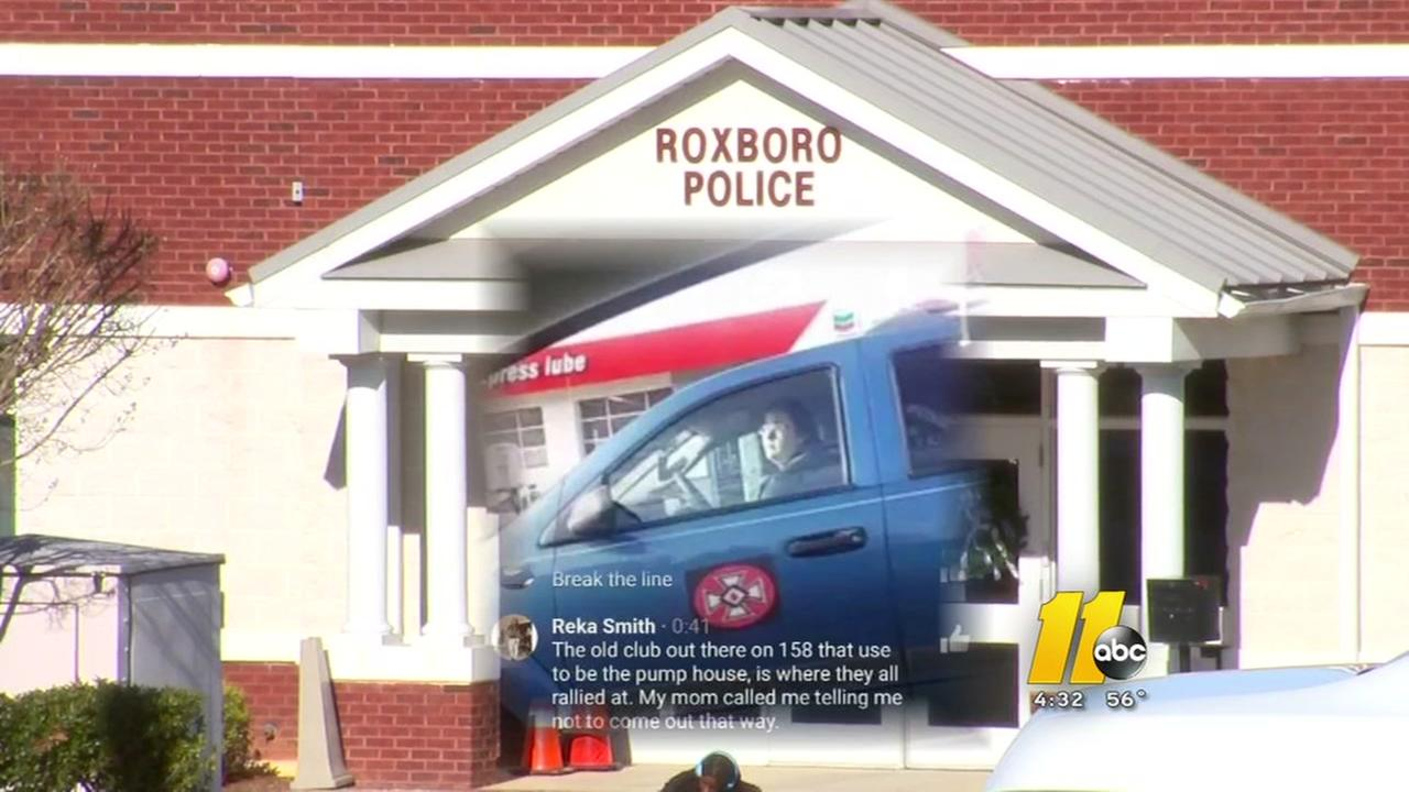 Roxboro police chief discusses KKK driving through city