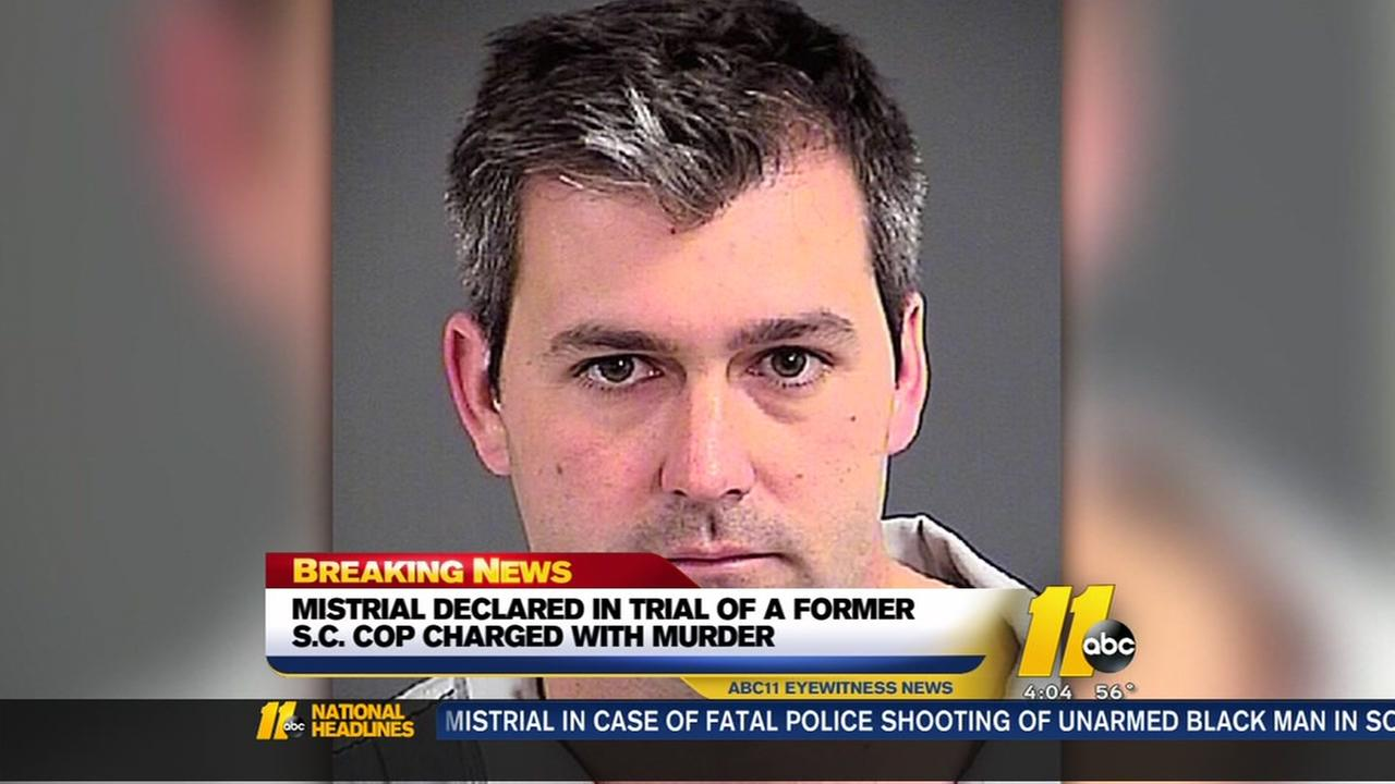 Judge declares mistrial in trial of former Charleston police officer