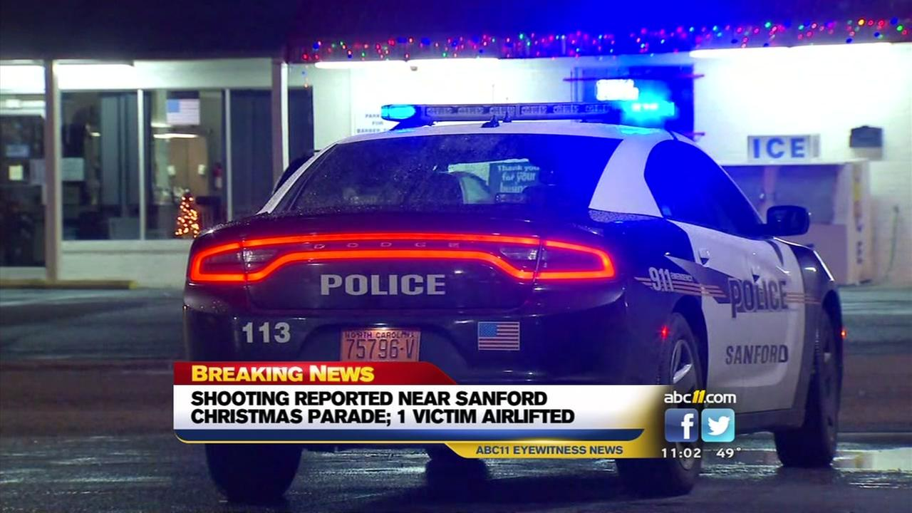 Shooting near Sanford parade