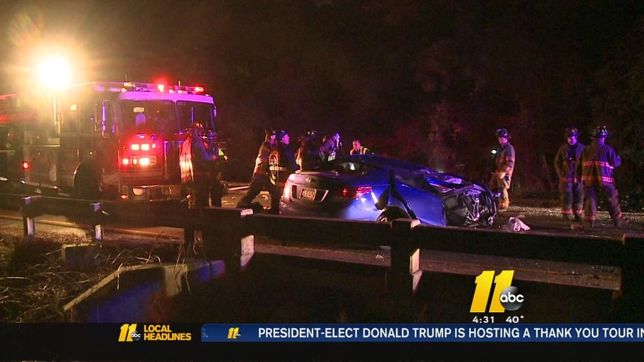 1 killed, 1 hurt in Durham crash