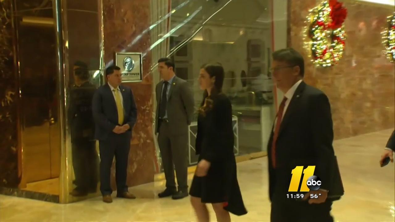 Pat McCrory meets with Trump in NYC