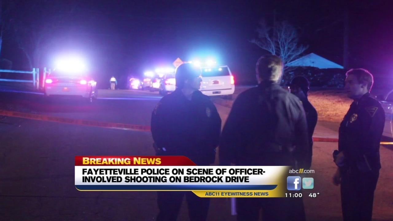 Officer-involved shooting in Fayetteville