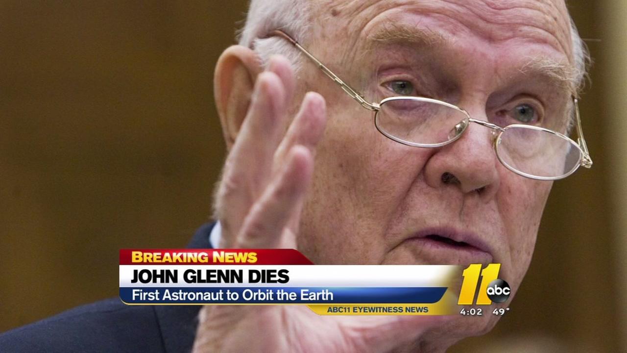 John Glenn dies at 95
