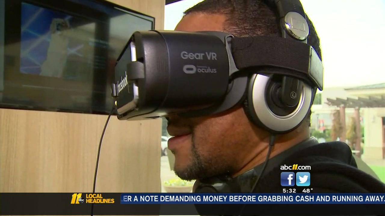 Facebook demonstrates virtual reality tech