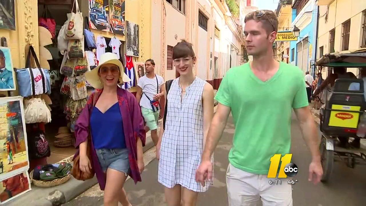 Young Americans are exploring Havana