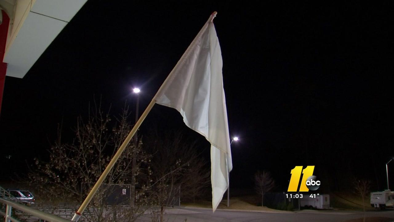 White flag out for the homeless